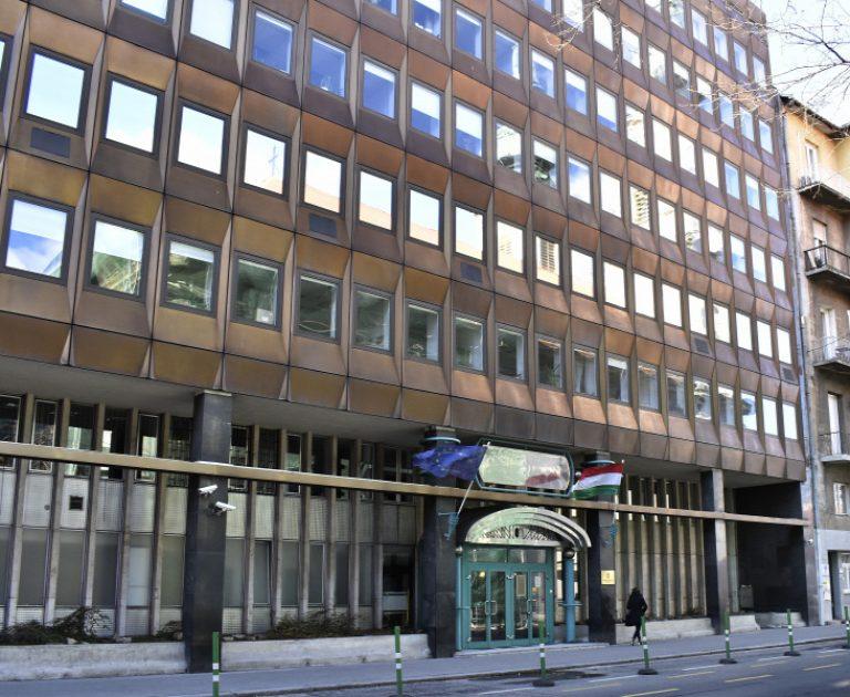 Az Innovációs és Technológiai Minisztérium épülete az I. kerületben, a Fő utca 44-50-benFORRÁS: MTI/RÓKA LÁSZLÓ
